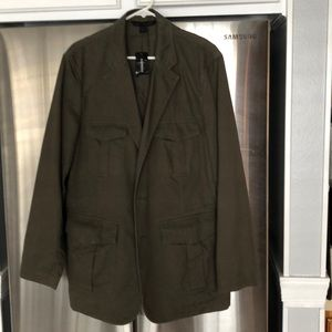 Express military style sports jacket